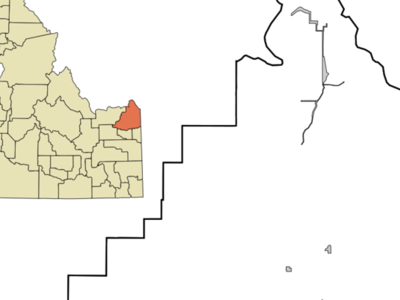 Location In Fremont County And The State Of Idaho