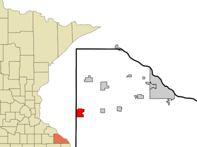 Location Of St. Charles Minnesota