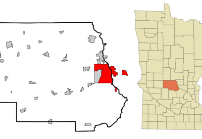 Location In The State Of Minnesota.