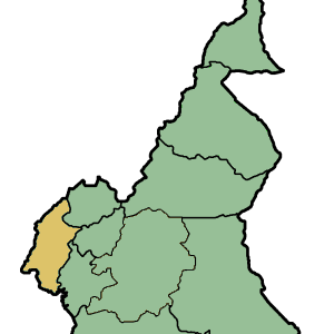 Location Of Southwest Region Within Cameroon