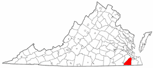 Location In The Commonwealth Of Virginia.