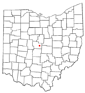 Location Of Sunbury Ohio