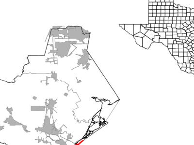 Location Of Surfside Beach Texas