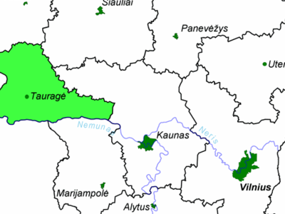 Location Of Taurag County