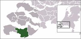 Location Of Terneuzen