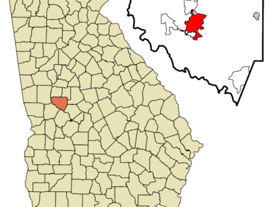 Location In Upson County And The State Of Georgia.