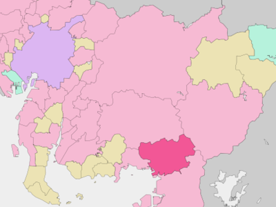 Location Of Toyokawa In Aichi