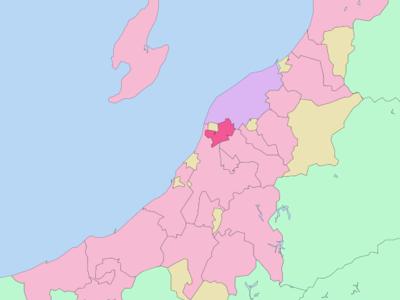 Location Of Tsubame In Niigata