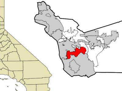 Location In Alameda County And The State Of California