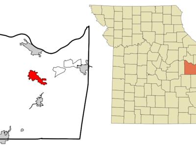 Location Of Union Missouri
