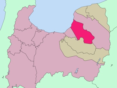 Location Of Uozu In Toyama