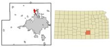 Location Of Valley Center Kansas
