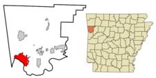 Location Of Van Buren Arkansas