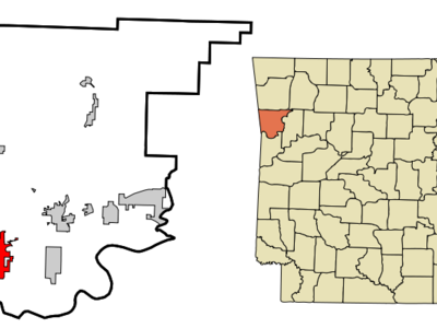 Location Of Van Buren Arkansas