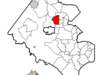 Location Of Vienna In Fairfax County Virginia
