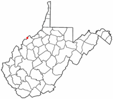 Location Of Vienna West Virginia