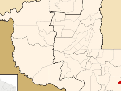 Location Of Vilhena In The State Of Rondnia