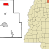 Location Of Walnut Mississippi