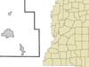 Location Of Walnut Mississippi