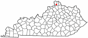 Location Of Walton Kentucky