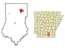 Location Of Warren Arkansas