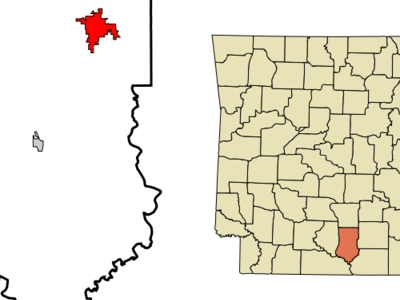 Location Of Warren Arkansas