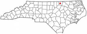 Location Of Warrenton North Carolina