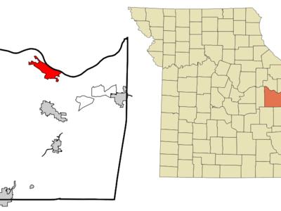 Location Of Washington Missouri