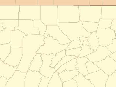 Location Of Washington Within Pennsylvania
