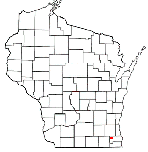 Location Of Waterford Wisconsin