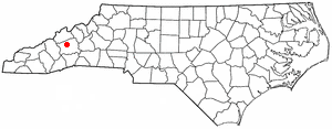 Location Of Weaverville North Carolina