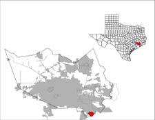 Location Of Webster Texas
