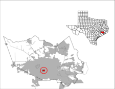 Location Of West University Place Texas