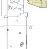 Location In Navajo County And The State Of Arizona