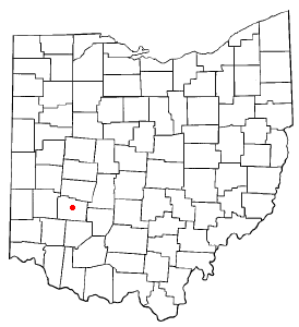 Location Of Wilberforce Ohio