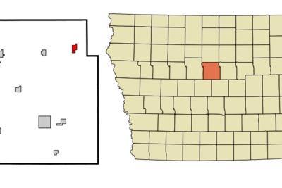 Location Of Williams Iowa