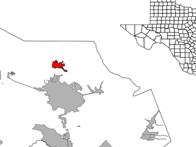 Location Within Montgomery County