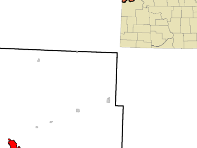 Location Of Williston North Dakota