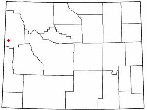 Location Of Wilson Wyoming