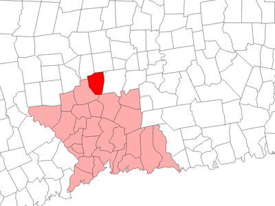Location In New Haven County Connecticut