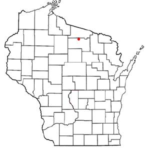 Location Of Woodruff Wisconsin