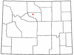 Location In Washakie County And The State Of Wyoming