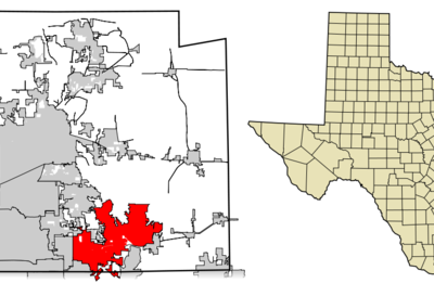 Location Of Wylie In Collin County Texas