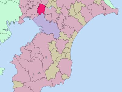 Location Of Yachiyo In Chiba