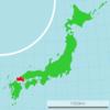 Location Of Yamaguchi Prefecture
