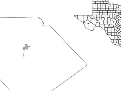 Location Of Yoakum Texas