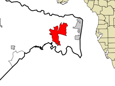 Location In Nassau County And The State Of Florida