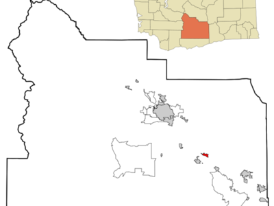 Location Of Zillah In Washington