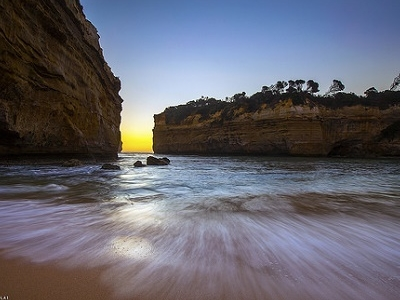 Loch Ard Gorge Along Great Ocean Rd - Victoria AS