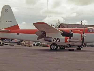 Fire-fighting Lockheed Neptune